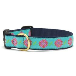Up Country - Dog Puppy Collar -Made In USA - Dahlia Darling - XS S M L XL XXL