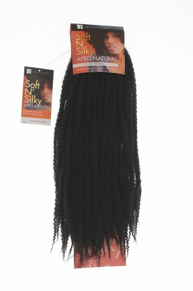 Sensationnel Soft N Silky Afro Natural Hair Kinky Twists
