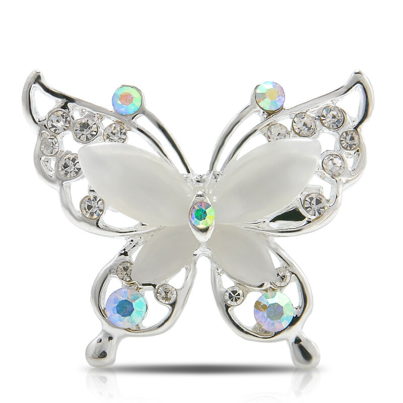 Details about Women s Butterfly Charm Crystal Rhinestone Brooch Pin  Beautiful Fashion Jewelry 90cad01f4