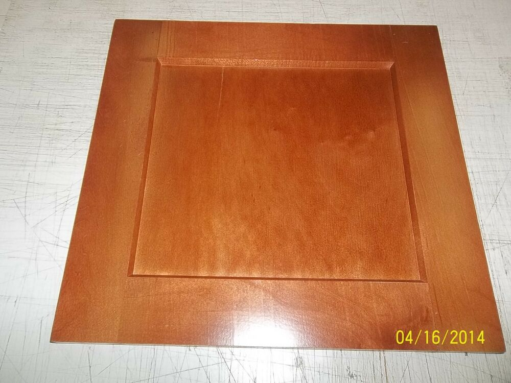 20 1/2 X 28 3/4 SHAKER CHERRY STAINED MAPLE KITCHEN ...
