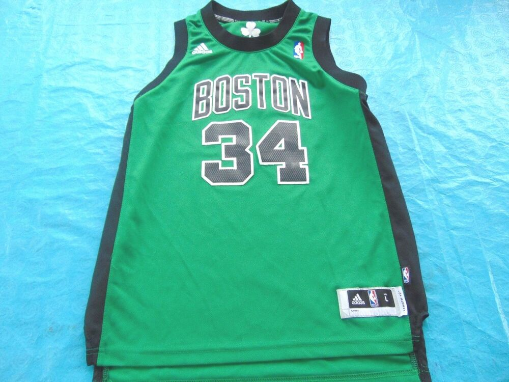 5156c1d8d ADIDAS NBA BOSTON CELTICS PAUL PIERCE ALTERNATE SWINGMAN JERSEY SIZE YOUTH  L
