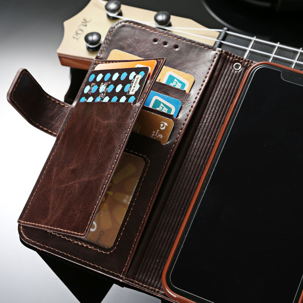 for iphone xs max xr luxury flip leather men 39 s wallet card. Black Bedroom Furniture Sets. Home Design Ideas