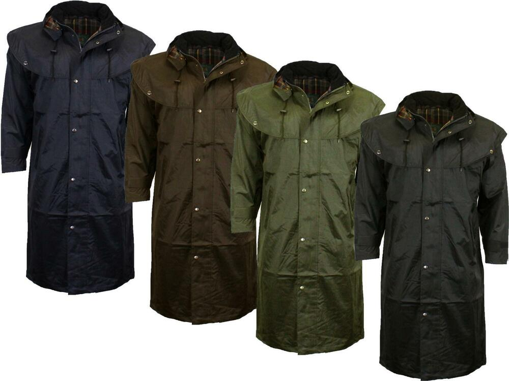 Midland Waterproof Coat Outdoor Riding Cape Trench