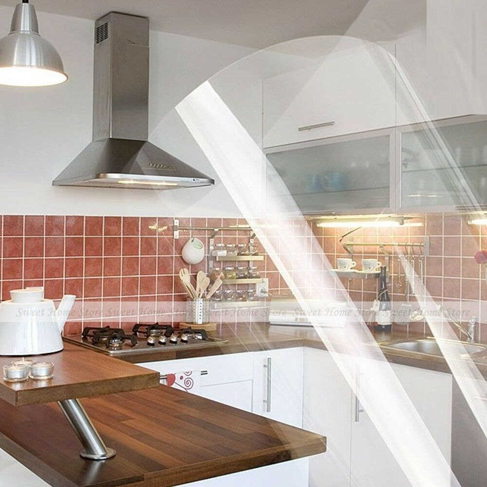 Self Adhesive Clear Vinyl Contact Paper Sticker Kitchen