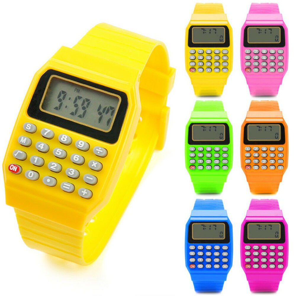 Cool Wrist Watches Children's Digital Calculator Watch for ...