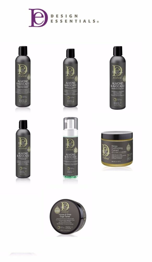 Design Essentials Natural Almond Avocado Honey Custard Honey