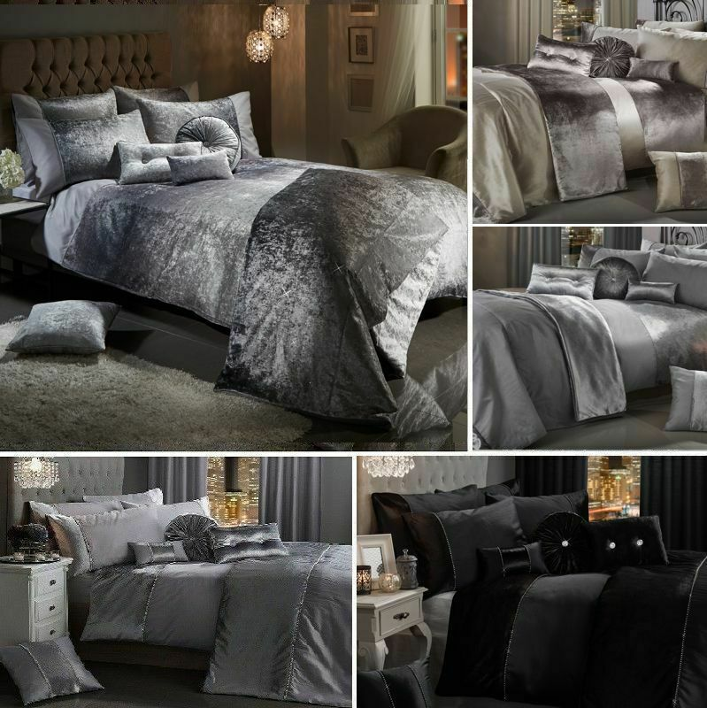 Crushed Velvet Bedding Sets