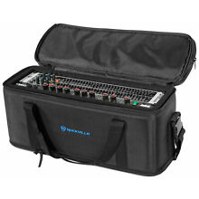 Rockville RRB30 3U Space Bag-Style Rack Case with Removable Rack+Shoulder Strap
