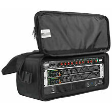 Rockville RRB40 4U Space Bag-Style Rack Case with Removable Rack+Shoulder Strap