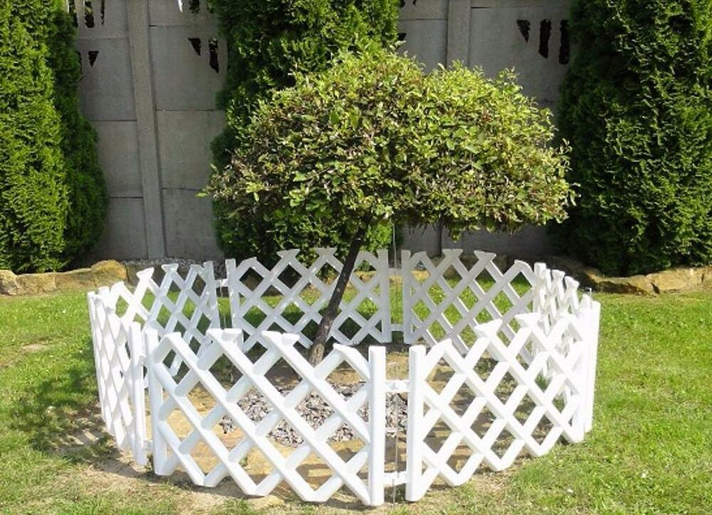 Plastic Garden Fence Edging Border Liner Wall Path Lawn