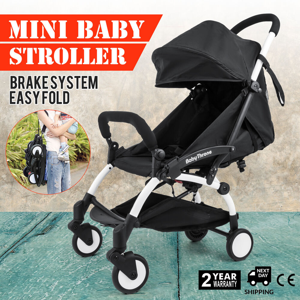 Mini Folding Baby Stroller Jogger Tour Lightweight Compact
