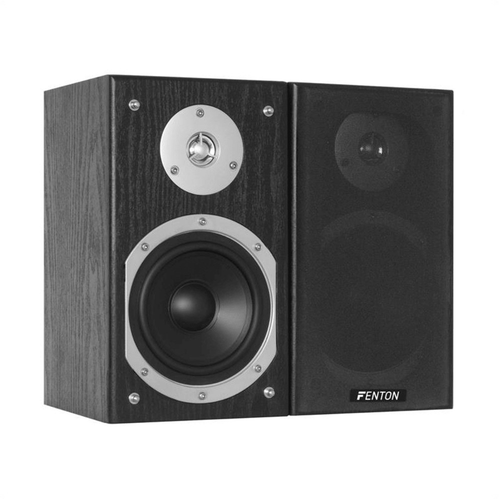 hifi stereo regal lautsprecher 2x 140w passiv boxen paar 5. Black Bedroom Furniture Sets. Home Design Ideas