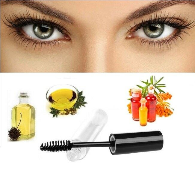 Organic Castor Oil Eyelasheyebrow Growth Serum 100 Natural Ebay