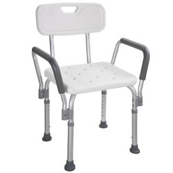 Kyпить Medical Bath Shower Seat Safety Support Bathtub Bench Chair Stool Armrest Back на еВаy.соm