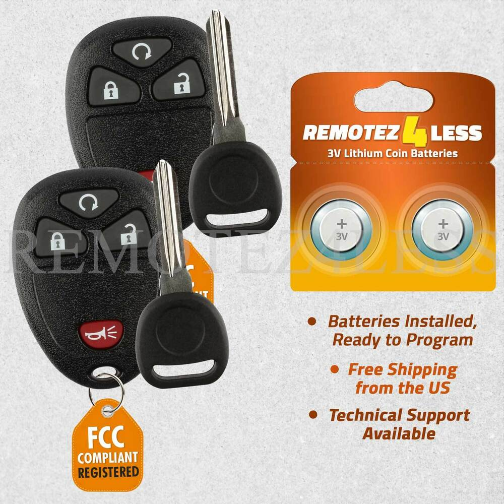 PAIR Remote For 2007 2008 2009 2010 2011 2012 2013