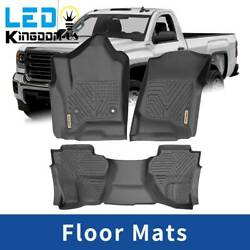 Kyпить Floor Mats Liner for 2014-2018 Chevy Silverado GMC Sierra All Weather Protection на еВаy.соm