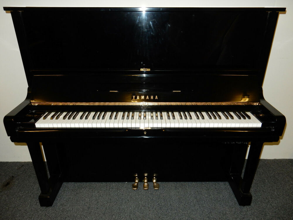 yamaha u1 silent upright piano 0 finance available ebay. Black Bedroom Furniture Sets. Home Design Ideas