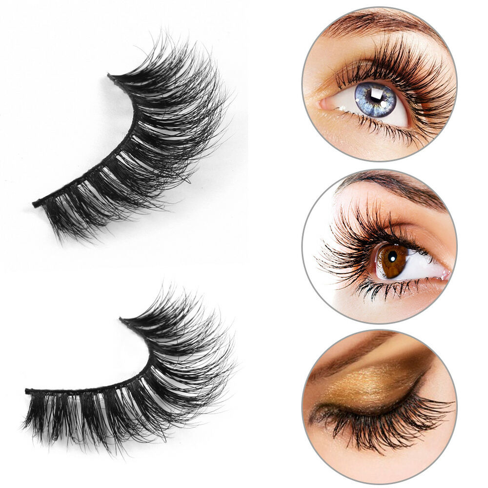 Mink Lashes Magnetic 3d Eyelashes Handmade Natural False Long Eye