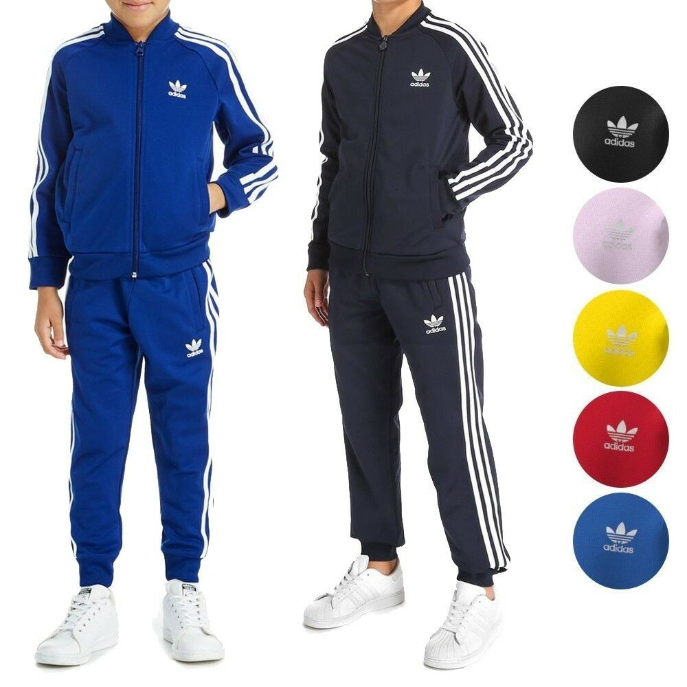 14658bfd73f8 Details about Adidas Originals Superstar Tracksuit Jacket   Pants Junior Boys  Youth (XS-XL)
