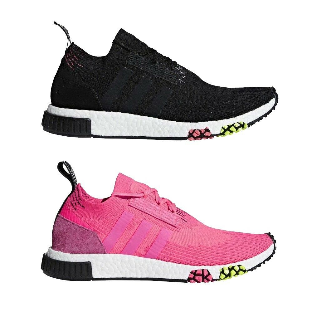 Details about Adidas Originals NMD Racer PK Primeknit Men s Shoes CQ2441 ( Black) CQ2442 (Pink) b183f12fb