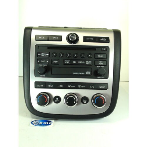 nissan-murano-2006-2007-cd-player-wclimate-controls