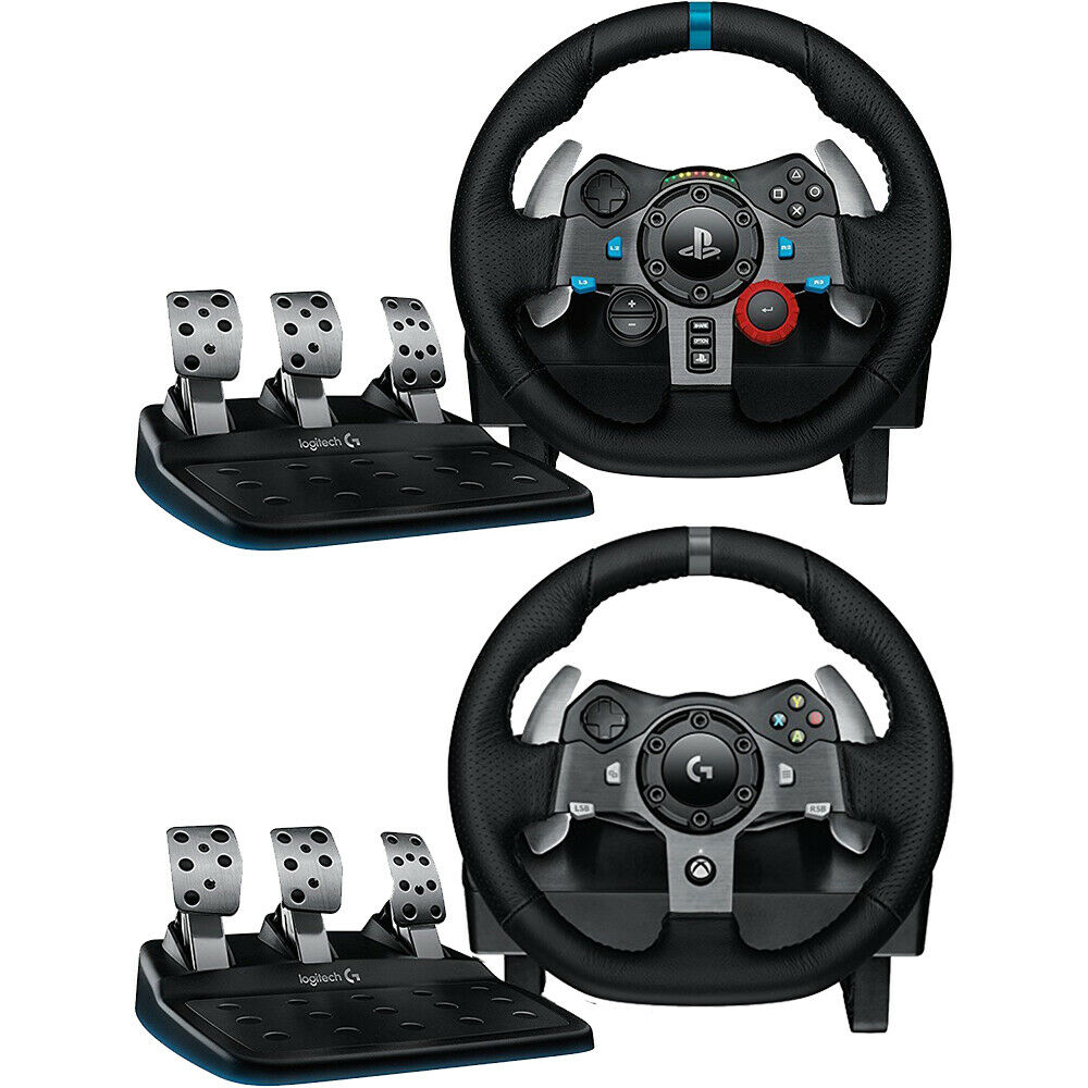 c557312821b Details about Logitech Driving Force Race Wheel + Shifter for Playstation 4,  Xbox One, and PC