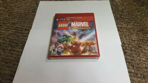 LEGO Marvel Super Heroes (Sony PlayStation 3, 2013)