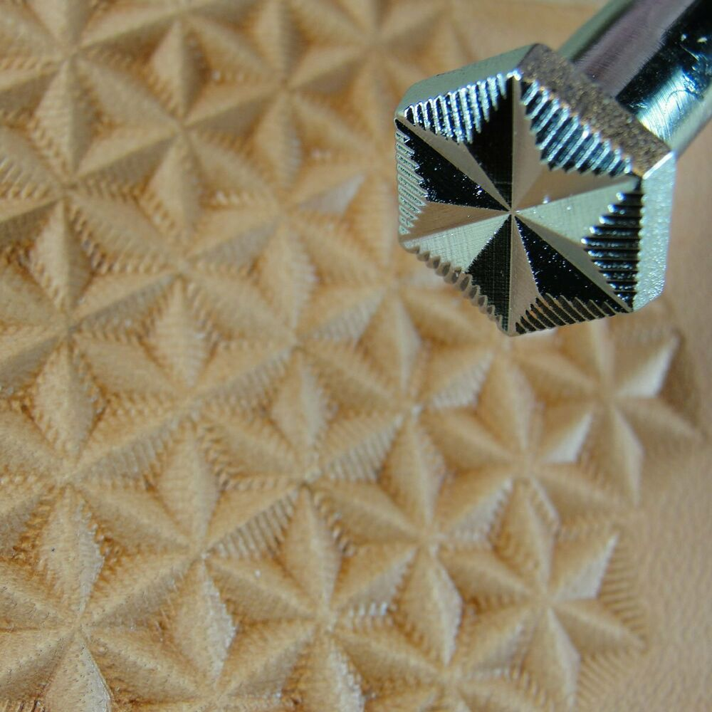 Craft Japan G526 6 Point Star Geometric Stamp Leather Stamping