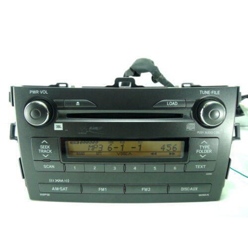 toyota-corolla-2009-2010-6disc-cd-mp3-wma-sat-aux-player-jbl-a518a5-tested