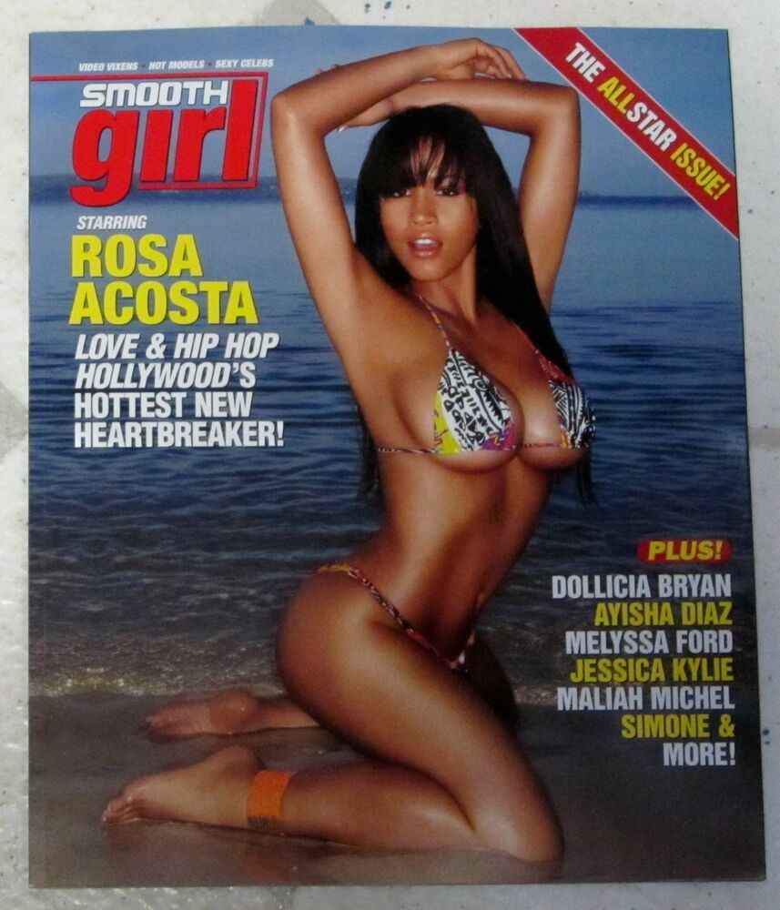 SMOOTH GIRL Sexy ALL STAR Issue Hot ROSA ACOSTA Sexy ...