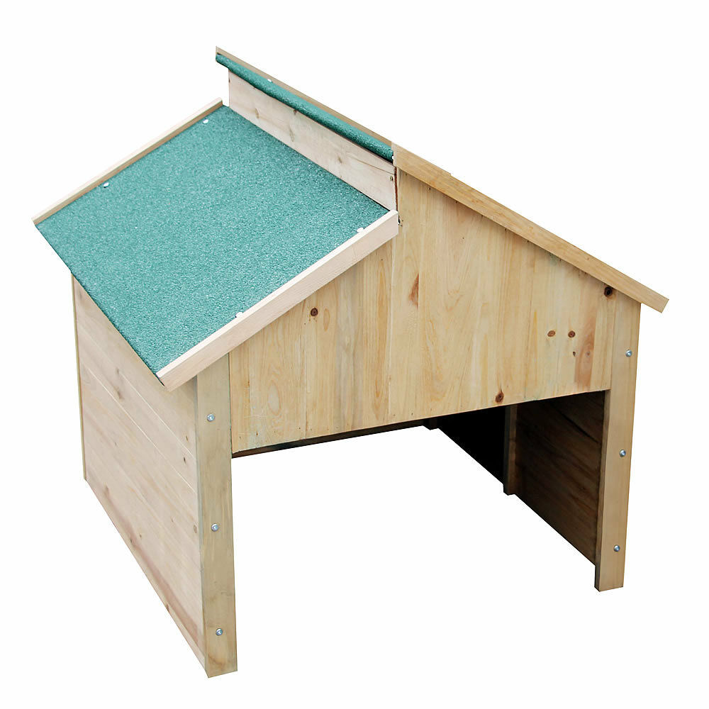 m hroboter holz garage dach carport rasenm her rasenroboter station haus 85 cm ebay. Black Bedroom Furniture Sets. Home Design Ideas