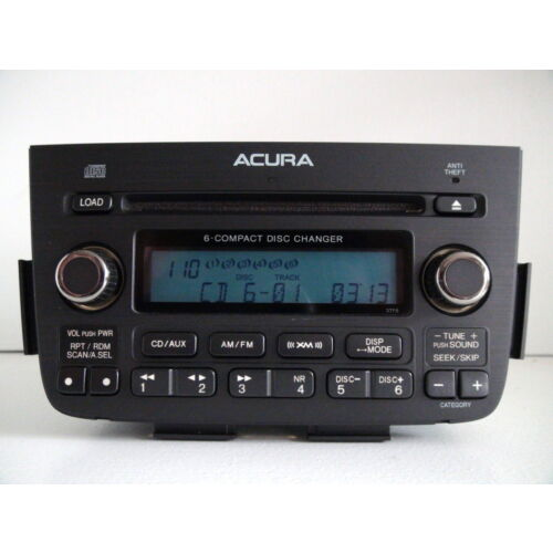 acura-mdx-2005-2006-6disc-cd-player-changer-xm-base-sound-3tf6-wcode-tested