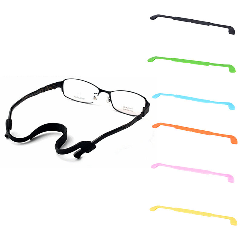 6967fbe683a Details about Silicone Eyeglasses Glasses Sunglasses Strap Sports Band Cord  Holder For Kid DSU