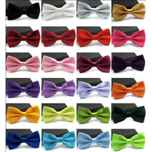 Adjustable Polyester Gentleman Party Smart Wedding Formal Dress Clip On Bow Tie