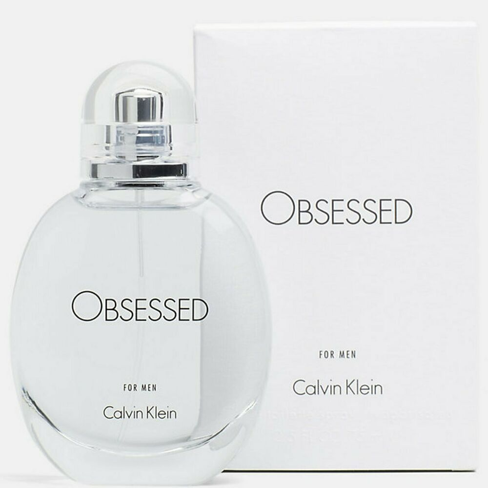 2198e56df976a Details about OBSESSED by Calvin Klein cologne for men EDT 4.0 oz New in Box
