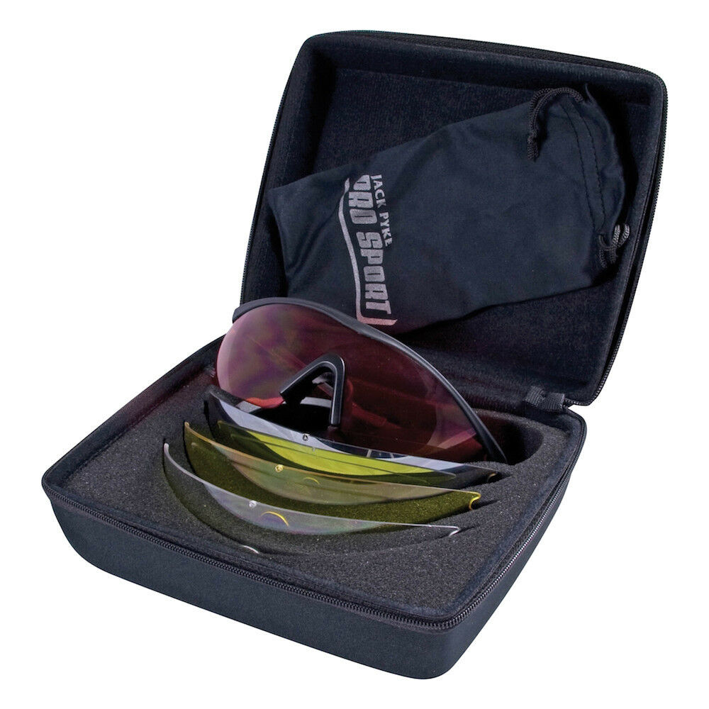 8ee75b3fb6c Jack Pyke GP Shooting Glasses 4 Lens