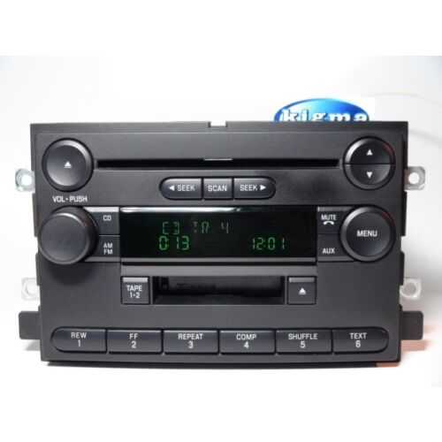 ford-f150-2004-cd-cassette-player-combo-2plugs-base-sound-tested