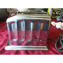 ANTIQUE TOASTMASTER AUTOMATIC SINGLE SLICE TOASTER, WITH DARK-LIGHT CONTROL