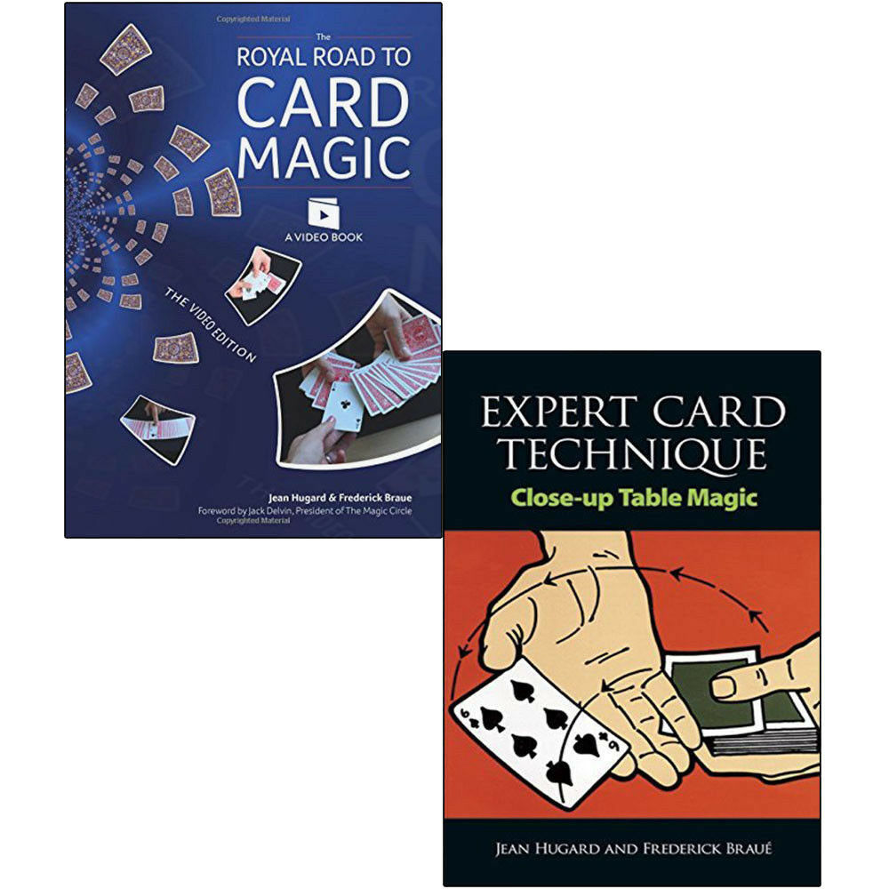 Royal Road to Card Magic Tricks Expert Technique 2 Books Collection Set NEW  9789123666058 | eBay