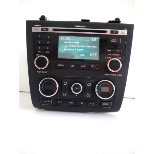 nissan-altima-10-1112-cd-aux-ipod-player-py05f-bose-sound-auto-climate-tested