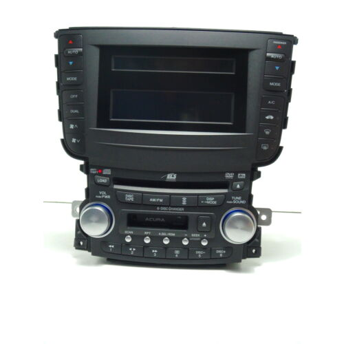 acura-tl-0406-6disc-cd-cassette-player-wdisplay-1tb2-wcode-some-light-out