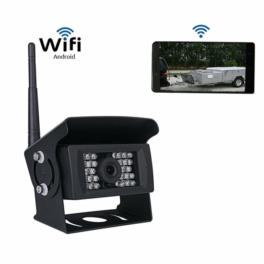 WiFi Digital Wireless Truck Bus Rear View Backup Camera For iPhone ...