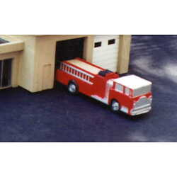 MODERN FIRE ENGINE - N-5001 - Easy to build N Scale kit - Made in the USA