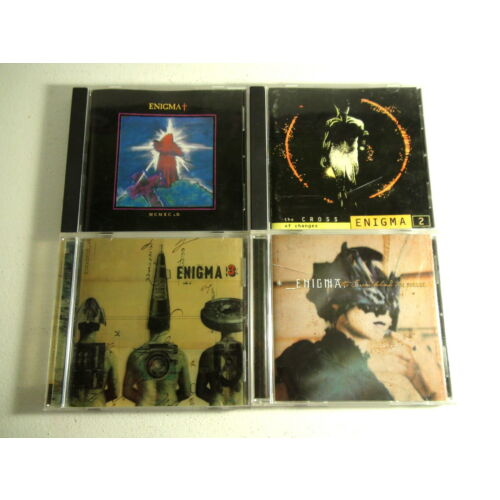 enigma-4-cds-set-1-2-3-4-used-vgood-cond-all-verified-complete-wcases