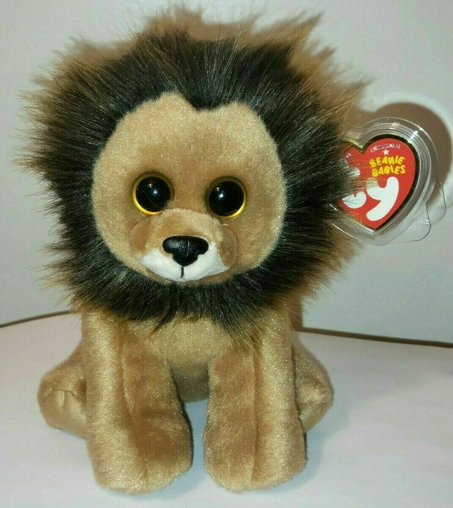 753e2c10b8e Details about Ty Beanie Baby ~ LOUIE the Lion (6 Inch)(2018 Version) NEW  MWMT