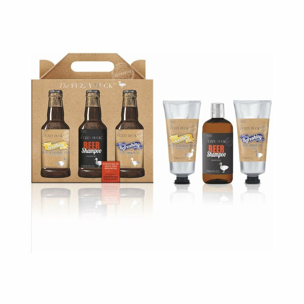 Details about Bayliss u0026 Harding Fuzzy Duck Menu0027s 3 Piece Beer Gift Set Fathers Day  sc 1 st  eBay & Bayliss u0026 Harding Fuzzy Duck Menu0027s 3 Piece Beer Gift Set Fathers Day ...