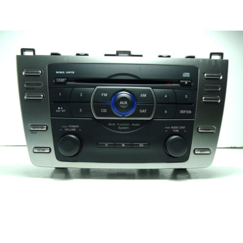 mazda-6-2009-2010-single-cd-mp3-wma-player-sat-radio-reg-sound-gs3l669r0d-tested