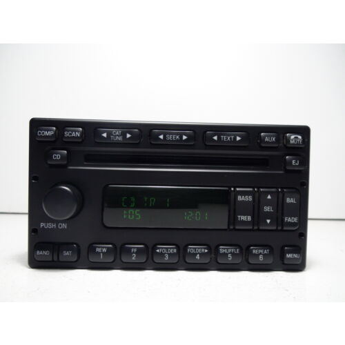 ford-escape-mercury-mariner-0607-cd-player-sat-aux-2plugs-base-sound-tested