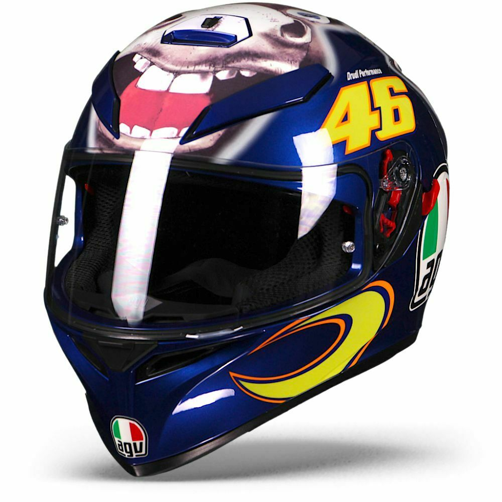 agv k 3 sv k3 donkey limited edition valentino rossi. Black Bedroom Furniture Sets. Home Design Ideas
