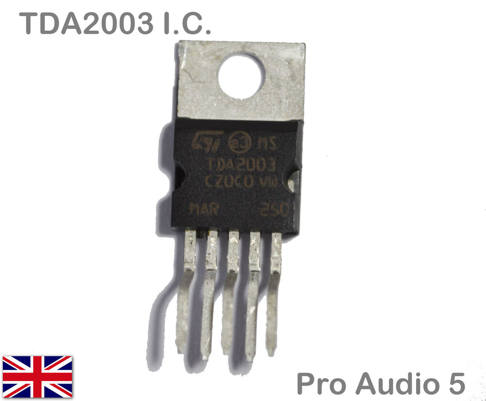 Tda2003 Ic Audio Power Amplifier 10w Tda 2003 Hi Fi Car Stereo Using Quality Uk Ebay
